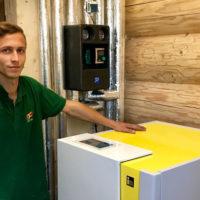 Kundendienst - Nöth Haustechnik wartet Heizungen, Wärmepumpen, Solar