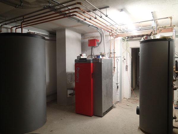 Nöth Haustechnik - BIomasseanlage am Chiemsee