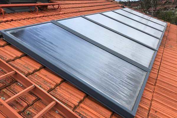 Solaranlagen zur Heizungsunterstützung am Chiemsee